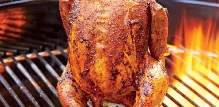 Stand Up Chicken (kip int blik)