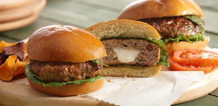 Gevulde Hamburger