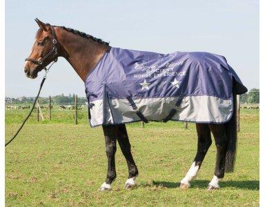 Regendeken Paard Thor 0gr Fleece Lining - foto 1