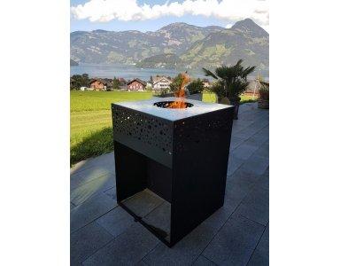 Terrashaard Cube Fire Pit - foto 1