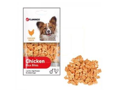 Chicken Snack Kip & Rijstbijtjes 85gr - foto 1