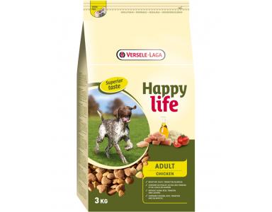 Happy Life Adult met Kip 3 kg - foto 1