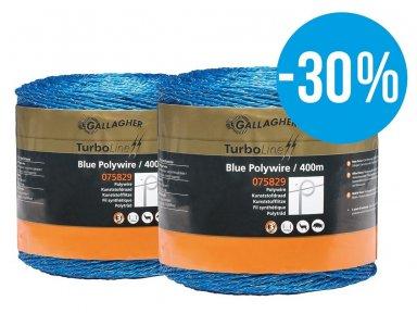 Duopack Kunstofdraad Blauw 2x400m - met 30% korting! - foto 1