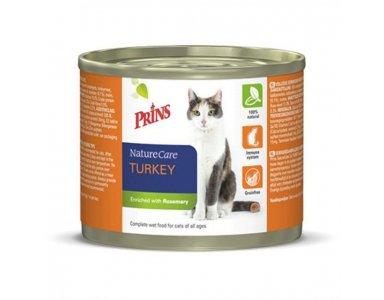 Prins Naturecare Cat 2x200 g - Kattenvoer - Kalkoen - foto 1
