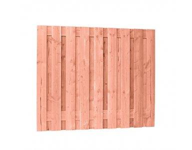Woodvision Douglas Geschaafd Plankenscherm 19-planks 16 mm, 180 x 150 cm, Onbehandeld. - foto 1