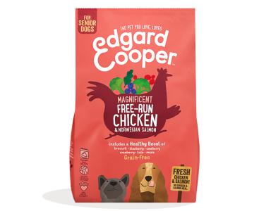 Edgard&Cooper Free-Run Chicken Senior Kip&Zalm&Broccoli - Hondenvoer -700 Gram  - foto 1