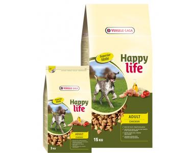Happy Life Adult met Kip 15 kg - foto 1
