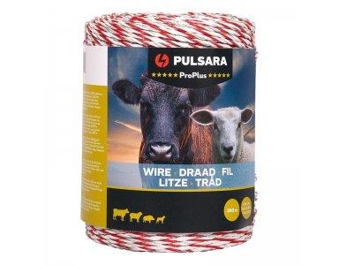 Pulsara Schrikdraad Pro Plus 200 m wit - foto 1