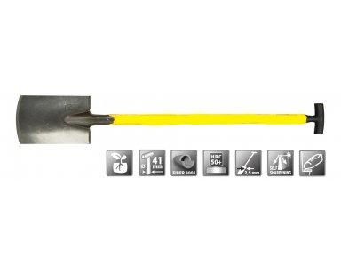 Polet Spade 280/180/2,5 2V T-Steel Fiber 95cm - foto 1