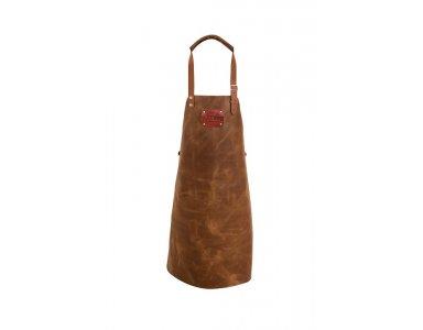 Not Just BBQ Leather Apron (lederen schort) - foto 1