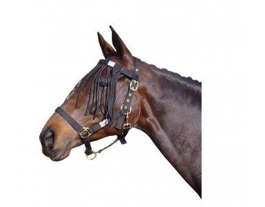 Harry's Horse Vliegenfrontriem Zwart - foto 1
