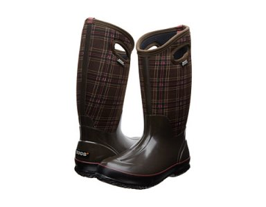 Bogs Classic Tall Winter Plaid Chocolate Multi Women - foto 1