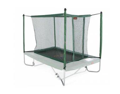 Avyna trampoline veiligheidsnet met palen 300x225 cm Groen - foto 1