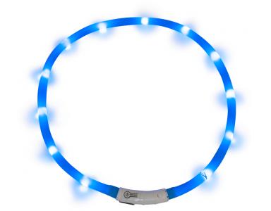 J&V Led Light Halsband Blauw - foto 1