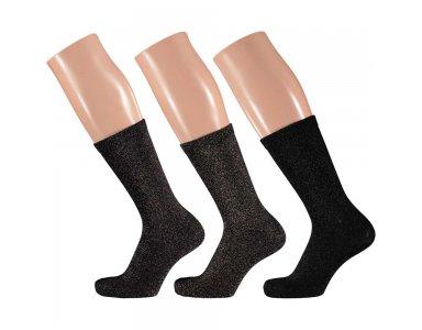 Apollo Dames Sokken in Giftbox 3-pack 36/41 Luxe - foto 1