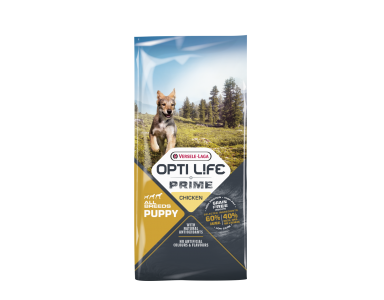 Opti life Prime Puppy Granenvrije Hondenvoeding Kip 12,5kg - foto 1