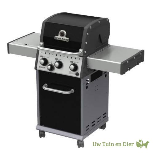 broil king baron 340 gas barbecue. Black Bedroom Furniture Sets. Home Design Ideas