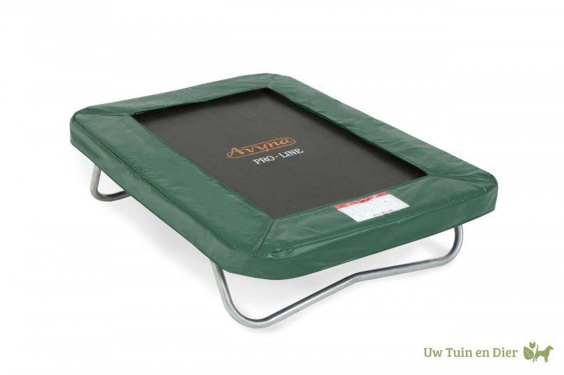 Trampoline Kleine Tuin : Avyna pro line kleine trampoline cm groen
