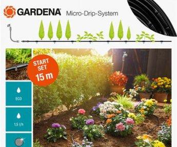 Gardena Micro-Drip-Systeem Start Set 15mt Rijplanten