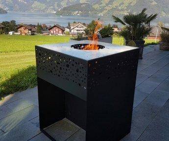 Terrashaard Cube Fire Pit