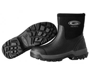 Grubs Midline Ankle 5.0 Zwart
