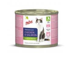 Prins Naturecare Cat 2x200 g - Kattenvoer - Kip en zalm