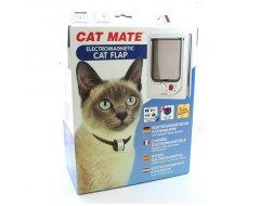 CAT MATE Kattendeur Electromagnetisch,254Wit