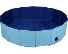 Flamingo Doggy Splatter Pool Blauw 120x30cm