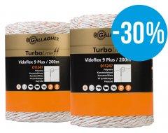 Vidoflex 9 TurboLine Plus (wit, duopack 2x 400 meter) - met 30% korting!