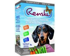 Renske Vers Vlees Hondenvoer 7+ Kalkoen  395 gr