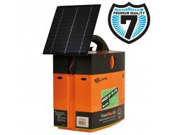 Schrikdraadapparaat B40 batterij-apparaat incl. 4W solar assist