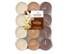 Spaas Theelichten Geur 24st Vanilla