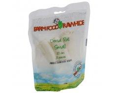 Farm Food Rawhide Dental Roll Rund Hondensnacks