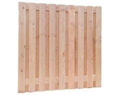 Douglas Geschaafd Plankenscherm 19-planks 16 mm, 180 x 180 cm, Onbehandeld