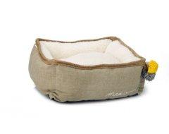 Designed y Lotte Jax - Kattenmand - Textiel - Beige - 40x40x15 cm