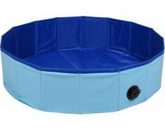Flamingo Doggy Splatter Pool Blauw 80x20cm