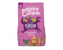 Edgard&Cooper Hond Brokjes Vers Hert & Scharreleend  7 Kg