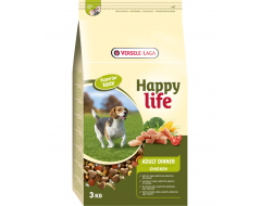 Happy Life Adult Dinner met Kip 3 Kg