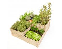 Mini Garden Moestuinbak Hoekmodel