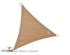 Nesling Coolfit Schaduwdoek Driehoek Zand 5M