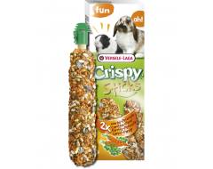Versele Laga Crispy Sticks Konijnen-Cavia's Wortel & Peterselie
