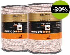 Gallagher Turboline Cord Schrikdraad, Duopack (2 x500m) Wit - met 30% korting!