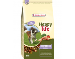 Happy Life Light Senior met Kip 3 kg