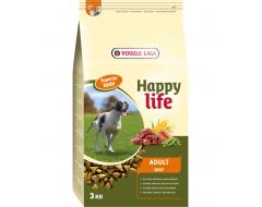 Happy Life Adult met Rund 3 kg
