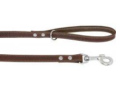 Jack and Vanilla Vetleder Leiband Hond Bruin-25mmx100cm
