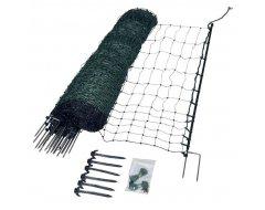 Kippennet,  Gallagher 112cm, 50m, groen (dubbele pen)