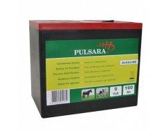 Pulsara Alkaline Batterij 9 Volt, 160 Ah