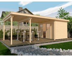 Weka Tuinhuis 225 B+ XXL Aanbouw