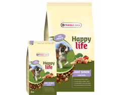 Happy Life Light Senior met Kip 15 kg