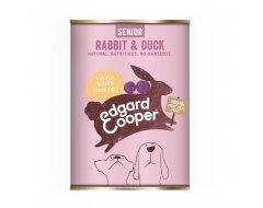 Edgard & Cooper Hondenvoer Senior Blik Konijn & Eend 400 Gram